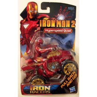Marvel Iron Man 2 Iron Racers Hyperspeed Quad Toys & Games