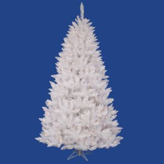 vickerman crystal white spruce 5 5 artificial christmas tree