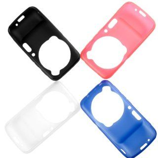Set of 4 Color Soft TPU Gel Case Cover for Samsung Galaxy S4 Zoom SM C1010 DC387 Cell Phones & Accessories