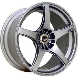 "Enkei RP03  Racing Series Wheel, Silver (19x8""   5x112, 35mm Offset) One Wheel/Rim Automotive"