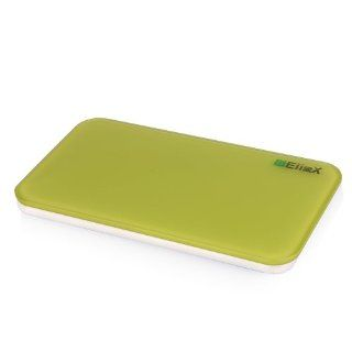 EiioX Mini Portable & Delicate Digital Health Body Scale   Perfect Gift   up to 396 Lbs / 180kg (Green) Health & Personal Care