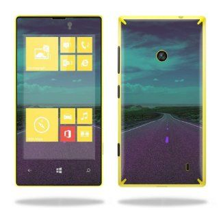 MightySkins Protective Vinyl Skin Decal Cover for Nokia Lumia 520 Cell Phone T Mobile Sticker Skins Highway Cell Phones & Accessories
