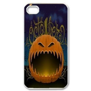 Alicefancy Holiday Iphone 4 & 4s Case For Featured Halloweed Personalized Design Iphone 4 & 4s Cover Case YQC10020 Cell Phones & Accessories