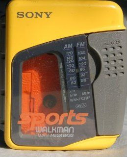 SONY Sports WALKMAN AM/FM Cassette WM FS397  Cassette Player Products   Players & Accessories