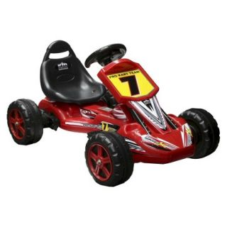 National Products LTD. Pro Cart Battery Powered Riding Toy   Red (6V)