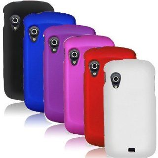 AccessoryOne Samsung Stratosphere 4G i405   SIX 6 Hard Plastic Case Cover Black, Blue, Purple, Hot Pink, Red, White Cell Phones & Accessories