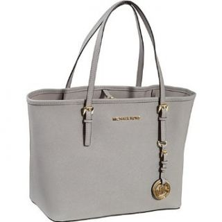 Michael Michael Kors Jet Set Small Travel Tote Pearl Grey Clothing