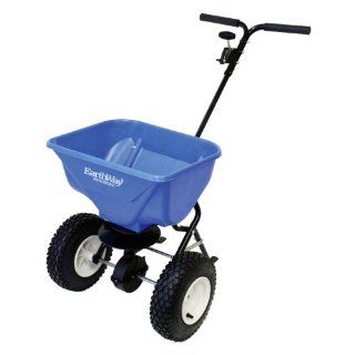 ICE MELT SPREADER, Color BLUE; Size 65 POUND HOPPER (Catalog Category Lawn & GardenLAWN AND GARDEN EQUIPMENT)