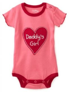 Hatley   Baby Girls Infant Daddy's Girl One Piece Bodysuit, Pink, 18 24 Months Clothing