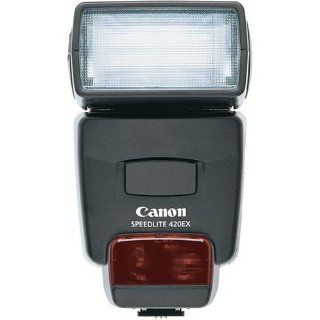 Canon Speedlite 420EX Flash for Canon EOS SLR Cameras   Older Version  On Camera Shoe Mount Flashes  Camera & Photo