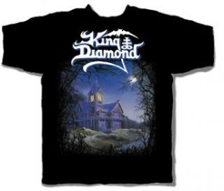 King Diamond   Them Adult T Shirt In Black, Size XX Large, Color Black Clothing