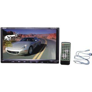 "AWM Pyle Pldn73I 7"" Double Din Tft Touchscreen Dvd/Vcd/Cd//Mp4/Ipod Connector   Dvd Players With Monitor  Vehicle Dvd Players"