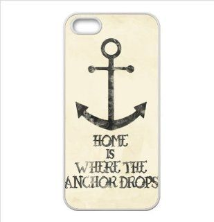 Best Anchor Quotes Accessories Apple Iphone 5 TPU case Cell Phones & Accessories