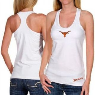 Texas Longhorns Womens Fit Workout Tank Top Shirt   XL Clothing