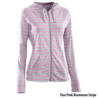 Under Armour Womens Undeniable Charged Cotton Full Zip Hoodie 699022
