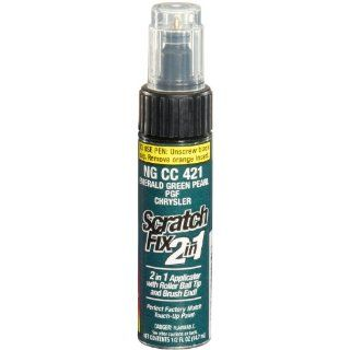 Dupli Color NGCC421 Emerald Green Pearl Chrysler Exact Match Touch up Paint   0.5 oz. Automotive
