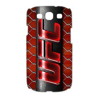 Custom UFC 3D Cover Case for Samsung Galaxy S3 III i9300 LSM 3679 Cell Phones & Accessories