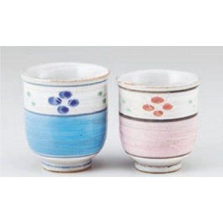 teacup kbu523 25  26 442 [Large x 2.96 x 3.15 inch small x 2.76 x 3.8 inch] Japanese tabletop kitchen dish Set teacup teacup cordiality couple set [ large 7.5 x 8cm small 7 x 7.8cm] inn restaurant tableware restaurant business kbu523 25  26 442 Kitchen &a
