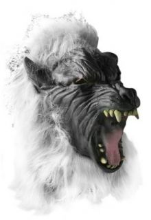 Scary Big Bad Wolf Howling Costume Mask Clothing