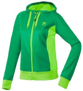 Fila Women's Plaited Fleece Full Zip Hoody Sweatshirt