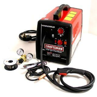 Craftsman 20504N 180EN 220 Volt Mig/Fluxcore Wire Welder & Regulator Kit   Power Welders