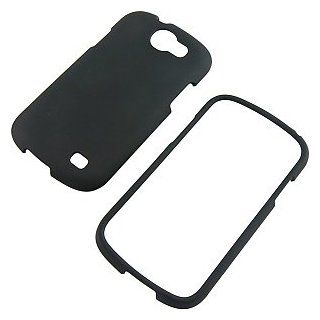 Black Rubberized Protector Case for Samsung Galaxy Express SGH i437 Cell Phones & Accessories