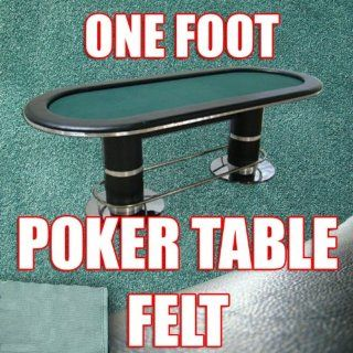 1 Foot Section of Olive Green Poker Table Cloth Felt. Top Quality to Build Your Poker Table. You Pick the Length.  Poker Felt Tablecloth  Sports & Outdoors