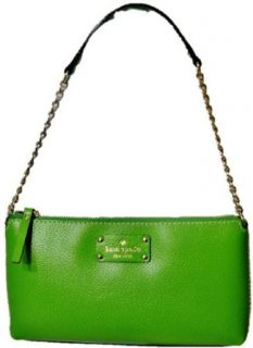 Kate Spade Wkru1427 Wellesley Byrd Green Handbag Nwt Clothing