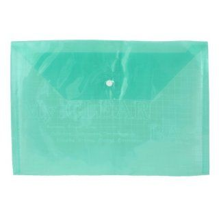 Green Clear Water Proof Plastic A4 Paper Document File Bag Case Holder Organizer  Conversion File Folders
