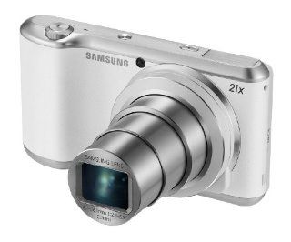 "Samsung Galaxy Camera 2 with Android Jelly Bean v4.3 OS, 16.3MP CMOS with 21x Optical Zoom and 4.8"" Touch Screen LCD (WiFi & NFC  White)  Camera & Photo"