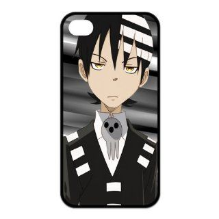 Mystic Zone Japanese Anime Death the Kid Case for iPhone 4/4S Cover Cartoon Fits Case KEK1645 Cell Phones & Accessories