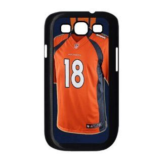 Diy Custom Case Peyton Manning Jersey for Samsung Galaxy S3 I9300 Cover Case Hard Case Cover with Silicone Core Fits Sprint, T mobile, AT&T and Verizon Samsung Galaxy S3 101268 Cell Phones & Accessories