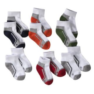 Boys Cherokee® Multicolor 6 pair Ankle Socks