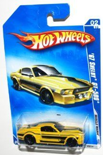 2009 Hot Wheels Muscle Mania, 1967 Shelby GT 500, 02 of 10, 078/190 (1 Each) Toys & Games