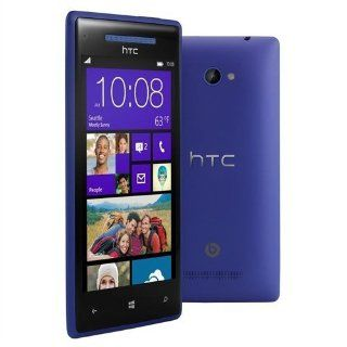 HTC 8x Blue (Factory Unlocked) Windows Phone 8, Dual core 1.5 Ghz Snapdragon Specail Gift for Special One Fast Shipping Cell Phones & Accessories