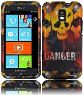 Danger Hard Case Cover for Samsung Focus S i937 Cell Phones & Accessories