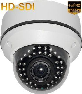 "2 Megapixel 1080P 1/3"" Sony CMOS ProgresScan HD SDI Vandal Proof Infrared IR Dome Camera 2.8 12mm AVF WDR, RS485 OSD 12v Korea  Camera & Photo"