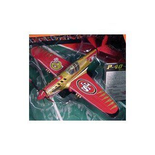 San Francisco 49ers 2004 NFL Limited Edition Die Cast 148 P 40 Warhawk Aircraft Collectible Sports & Outdoors