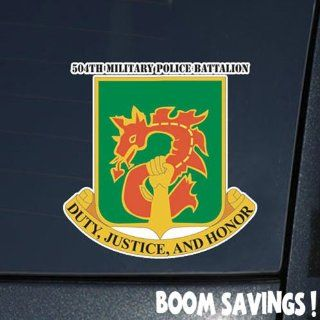 "US Army 504th Military Police Battalion DUI 6"" Decal Sticker Automotive"