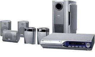 JVC TH M505 DVD Home Theater System with 5 Disc Changer (Discontinued by Manufacturer) Electronics