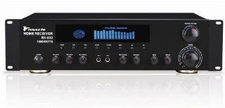 Brand New for 2010 Technical Pro Rx b33 Rack Mount Black 1, 000 Watt 2 Channel Professional Dj or Home Theater Power Amplifier / Receiver Combo with Mic Inputs and Echo Control  Component Vehicle Speaker Systems