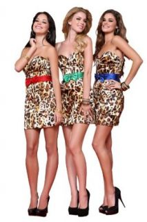Scala P17029, Leopard Print Cocktail Dress With Ruched Waist