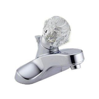 Delta 522 STPM Knob Handle Centerset Bathroom Sink Faucet Polished Chrome   Touch On Bathroom Sink Faucets