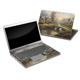 Sunset On Lamplight Lane Design Protective Decal Skin Sticker for Samsung Series 5 14 inch Ultrabook PC 530U4B A01 Computers & Accessories