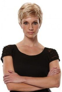 SIMPLICITY (Petite Size) Wig #5312 by Jon Renau plus a FREE Wig Brush (Color Selected 56)  Hair Replacement Wigs  Beauty