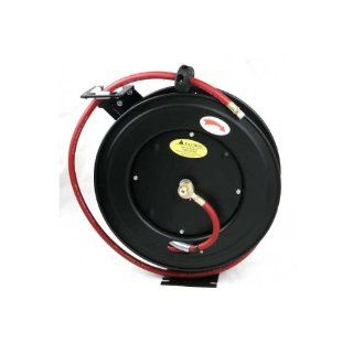 OEM 25978 50 Feet by 1/4 Inch Air Hose with Auto Retracting Hose Reel   Air Tool Hoses