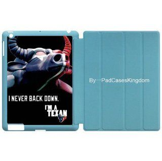 Smart case with Wake/Sleep Stand NFL Houston Texans pattern for iPad 2 & iPad 3 by padcaseskingdom Computers & Accessories