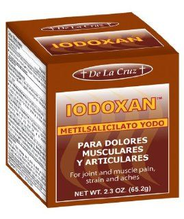 Iodoxan Pain Relieving Ointment Health & Personal Care