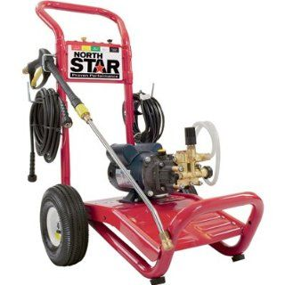 NorthStar Electric Cold Water Pressure Washer   1700 PSI, 1.5 GPM, 120 Volt  Electric Power Washer  Patio, Lawn & Garden