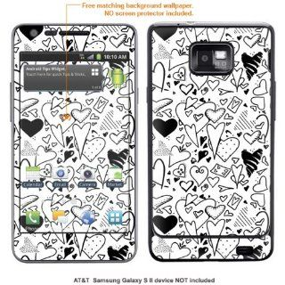InvisibleDefenders Protective Decal Skin STICKER for Samsung Galaxy S II (AT&T U.S. version) case cover TgalaxysII 554 Cell Phones & Accessories